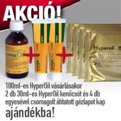 HYPEROiL 100 ml-es üveges kiszerelésben spray adagolófejjel (olaj) AKCIÓS