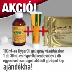 HYPEROiL gel spray 100 ml-es (zselé)