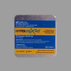 Hypermixvet 10 x 10 cm-es átitatott gézlapok (Vazelin tartalmú) (20 db/csomag)